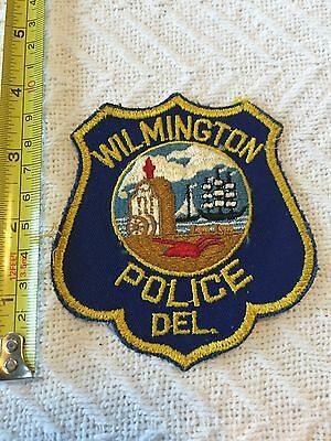 Wilmington DE Delaware Police  Department Police Patch Large Official Unused!!!