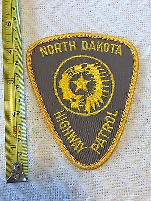 ND North Dakota Highway Patrol Official Police Patch Large Unused!!!