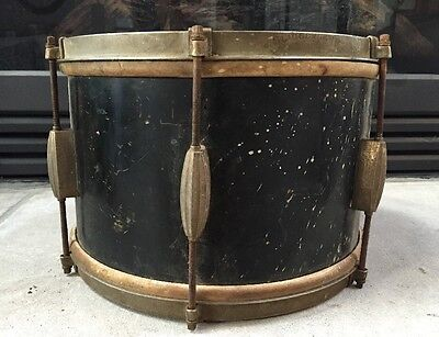 "Vintage Slingerland Radio King 8x12"" Tom Drum w/ Calfskin Heads **RARE**"