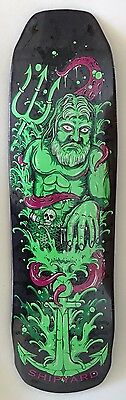 Shipyard Skates Deck Lord Poseidon Shaped 9 x 32.5
