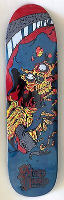 Shipyard Skates Deck Reaper Shaped 8.6 x 32.5