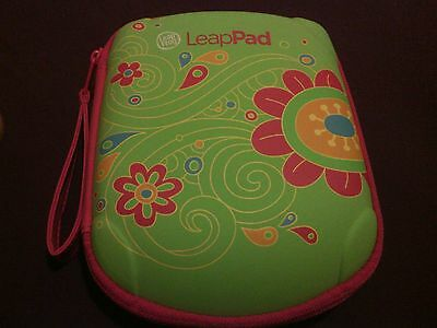 Leapfrog LeapPad Tablet Pink/Green/Flowers Carrying Case