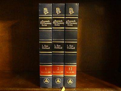 Scientology Research & Discovery Series, Vol 1, 2, & 12