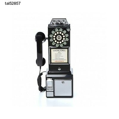 Pay Phone Telephone Retro Vintage Coin Bank Game Room Teen Dorm Payphone Wall