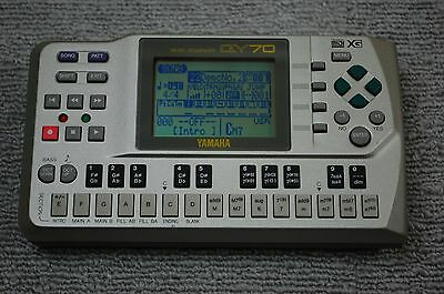 YAMAHA QY70 MUSIC SEQUENCER DRUM MACHINE Sound Module Synthesizer