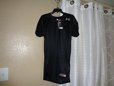 New Boy's Under Armour Football Practice Jersey Large YXL X Large Youth. Black