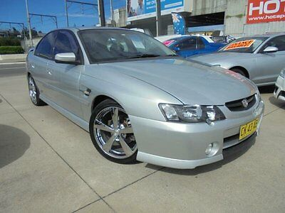 2002 Holden Commodore VY SS Silver Manual 6sp M Sedan