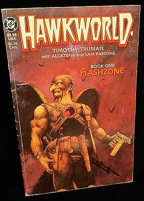 Hawkworld Book 1 Flashzone DC 1989