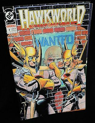 Hawkworld 2 DC 1990 Enter Hawkman
