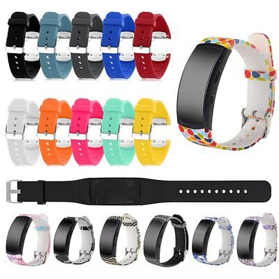 Patterned Replacement Silicone Watch Band Strap For Samsung Gear Fit 2 SM-R360