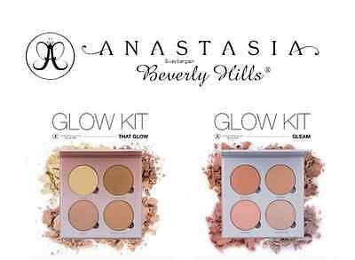 NEW Anastasia Beverly Hills Glow Kit Palette, Gleam & That Glow Highlighter UK❤️
