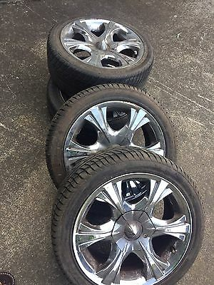4 Mag Wheels And Tyres 205/45 R16