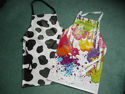 NEW Childrens,Kids,Teen, PVC Aprons To fit  9 to 13yr olds approx BRAND NEW