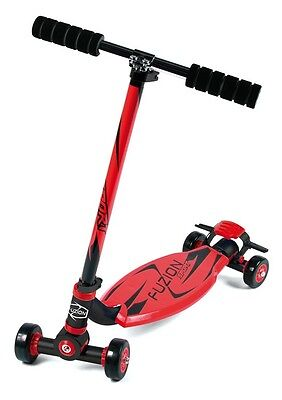FUZION City scooter sport red aluminum red/black