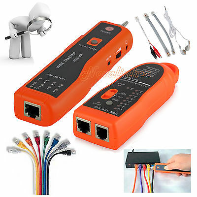 Wire Tracker RJ45 RJ11 Cable Finder LAN Network / Telephone Cable Tester Scanner