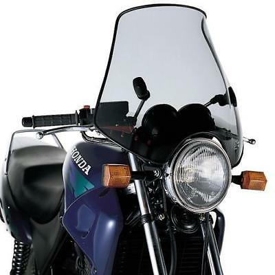 GIVI A602 Universal screen with 2 point handlebar, smoked 40 x 53 cm (H x W)