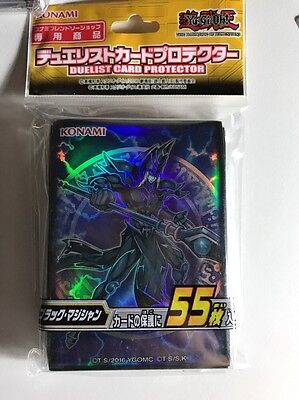 Yugioh Konami Card Sleeve The Dark Side Of Dimensions Dark Magician X55 Pcs NEW