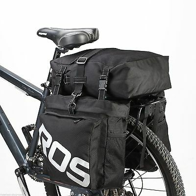 LAST ONE! Roswheel Bicycle Double Pannier Touring Set - UK Stock