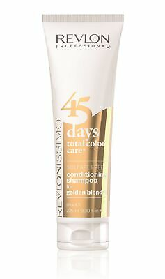Revlon 45 Days Revlonissimo Total Color Care 2in1 Shampoo Golden Blondes 275 ml