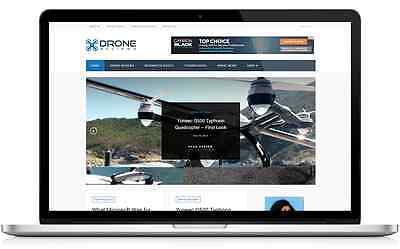 Drone Business Website with Integrated Affiliate Shop - For Sale