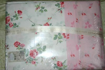 Housse de couette LAURA ASHLEY percale 100% coton 260x240