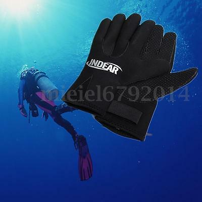 3mm Swimming Diving Surfing Wetsuit Gloves Skid-proof Snorkeling Glove XS-XL