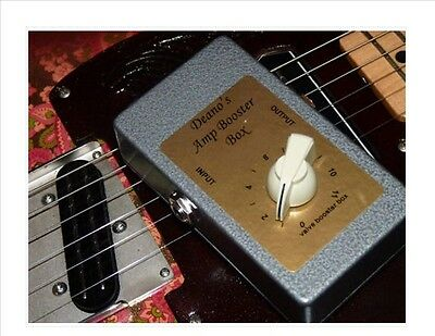 Deluxe Booster Box/attenuator D1 For Fender Guitar Amps