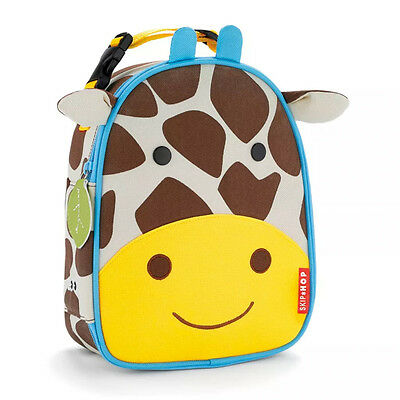 NEW Skip Hop Zoo Lunchie Giraffe Insulated Lunch Bag for Children Ages 3+