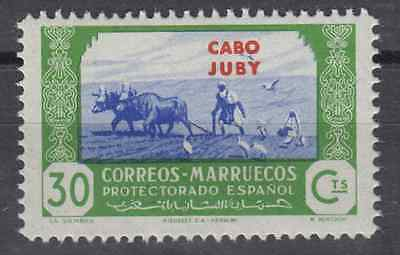 CAPE JUBY - CABO JUBY (1944) - MNH - Sc# 113 - EDIFIL 145 (30 cts) AGRICULTURE