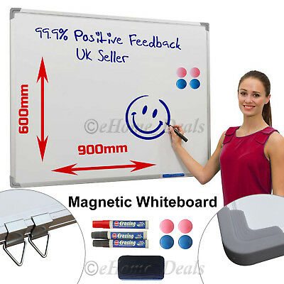 Large Magnetic Dry Wipe Drawing Whiteboard & Office School Notice Memo Board Uk