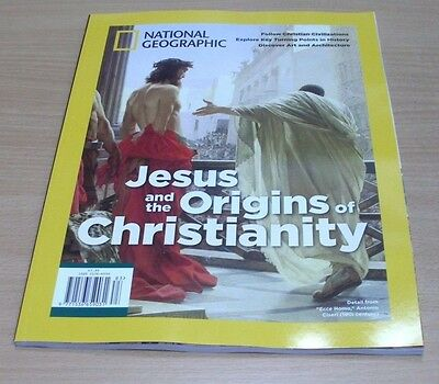 National Geographic magazine Special 2017 Jesus and the Origins of Christianity