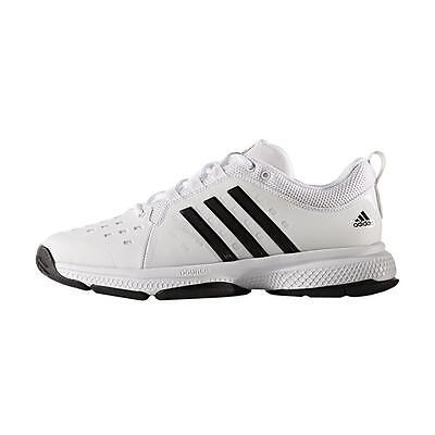 Adidas Mens Barricade Classic Bounce Tennis Shoes - NEW 2017 - White
