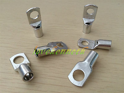 10/20pc SC35 35mm² 6/8/10/12mm Tinned Copper Brass Cable lugs Terminal Connector