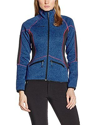 Icepeak Laurien Giacca Outdoor Donna, Blu, 36