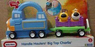 636172 little tikes Handle Haulers Big Top Charlie Traktor Zugmaschine mit Sound