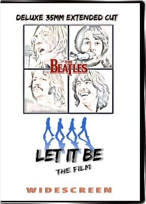 The Beatles Let It Be the Movie Extended Cut  [HQ Widescreen DVD] New.