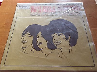 The Supremes We Remember Sam Cooke MOTOWN DIANA ROSS. Rare vinyl record.