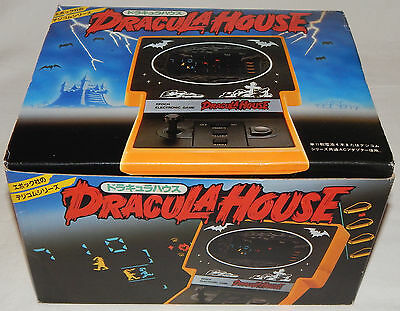 Vintage Dracula House Lsi/fl Electronic Tabletop Game By Epoch In Box/boxed/nos