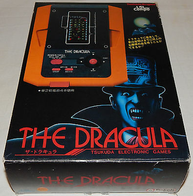 *vintage 1982 The Dracula/vampire Lsi Tabletop Game By Tsukuda In Box/boxed/nos*