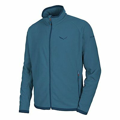 Salewa Rainbow 3 Pl M Fz Felpa - Blu (Midnight) - 52/XL