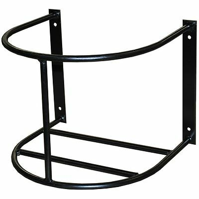 Country Manufacturing Wall Mount  5 Gallon Bucket Holder Horse Care Rolled Steel
