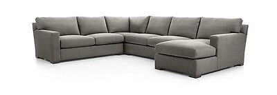 Crate And Barrel Axis ll 4 -Piece Sectional Sofa