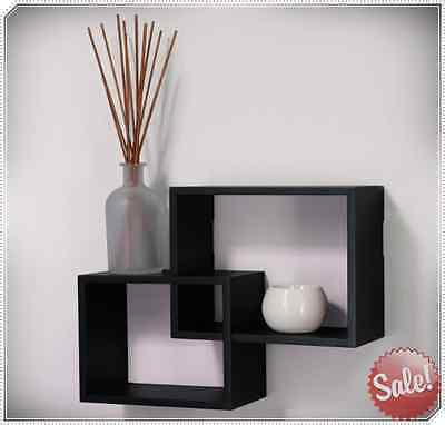 Decorative Wall Shelves Floating Hanging Rack Mounted Home Shelf Display Decor
