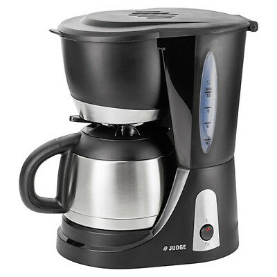 Judge Filter Coffee Machine With Stainless Steel Jug 10 Cup / 1 Litre