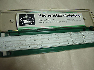 Faber  Castell 111/87 Rietz Slide  Rule  Boxed With Manual  Germany