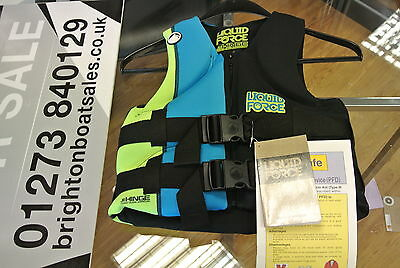 Liquid Force New Hinge Youth impact vest/Bouyancy Aid **Stock Clearance**