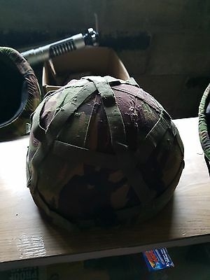 British Military Army Kevlar MK6 Helmet with Cover