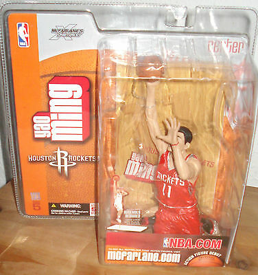 McFarlane NBA Series 5 Yao Ming Chase Variant Red Jersey Figure Houston Rockets