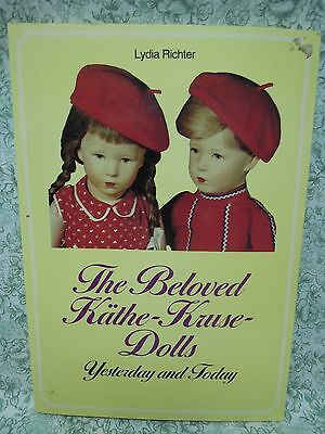 """Doll book: """"The Beloved Kathe-Kruse-Dolls Yesterday & Today"""" by Richter  rm-216"""