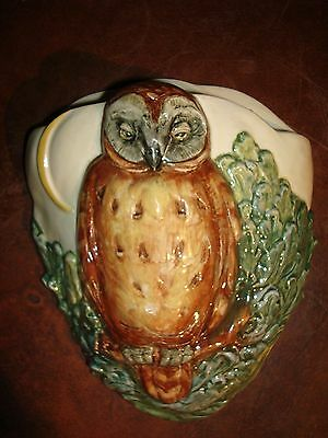 ~Superb~Royal Doulton~ Barn Owl~ Wall Pocket~ Dated 1938 ~  Perfect~~